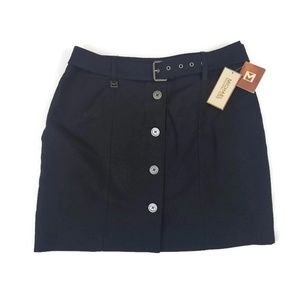 Michael Kors Navy Blue Skirt NWT